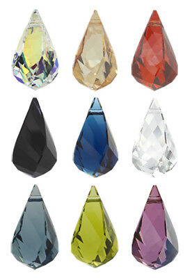 Genuine SWAROVSKI 6020 Helix Crystals Pendants * Many Sizes & Colors