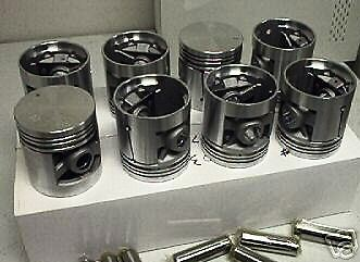 Chevy 409 HI COMP 11:1 Pistons + rings1961 62 63 64 65 Bel Air Biscayne Impala