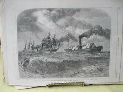 Vintage Print,ON THE MISSISSIPPI,Every Saturday,June 1871