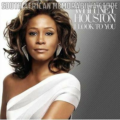 Whitney Houston - I Look To You - South African CD *New* CDAST563