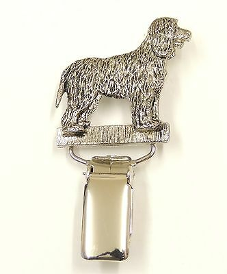 Irish Water Spaniel Dog Show Ring Clip/  Number Holder