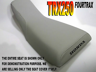 TRX250 Fourtrax 1985-87 Replacement seat cover Honda TRX 250 Grey  315C