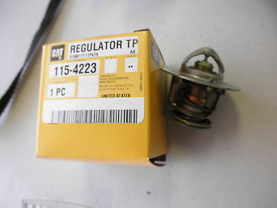 2 New Oem Caterpillar Regulator Tp Thermostat Cat 115-4223