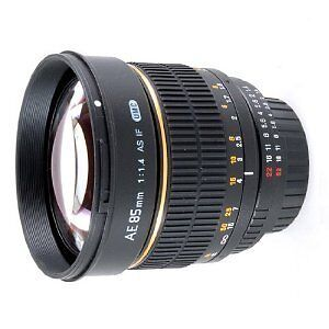 NEW Rokinon 85mm  F1.4 Aspherical IF TELEPHOTO LENS for NIKON AE with CHEAPS