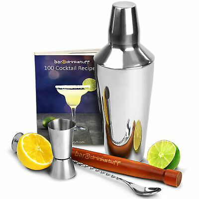 Cobbler Cocktail Shaker Set by bar@drinkstuff