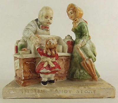 Sebastian Miniature SML-90A In The Candy Store Necco Marblehead Era Statue