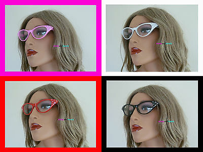 Grease Pink Ladies Glasses 50's Style Novelty Fancy Dress Hen Party Night