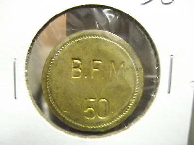 100 Check Token; Anne Arundel Co Maryland B.F.M