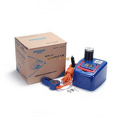 DC12V Car Electric Hydraulic Jack With LED Light Min/Max Height:170/410MM 1200kg