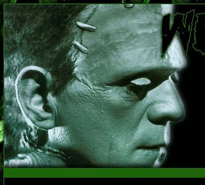 FRANKENSTEIN Halloween Auction Template Easy Copy Paste HTML code Use anywhere