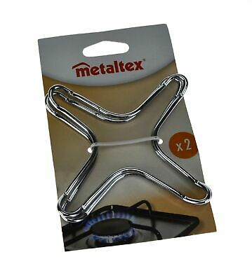 NEW METALTEX TRIVET Stove Top Reducer Stovetop Support Coffee Pot Simmer Ring