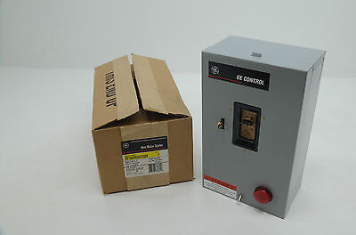 GE Size M-0 1PH Manual Motor Starter With Nema 1 Enclosure CR1062R2AAT202R