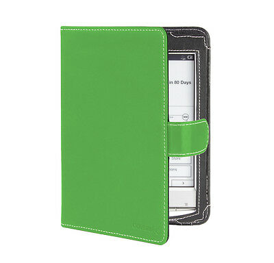 Cover-Up Sony Reader PRS-T1 / PRS-T2  (Book Style) Green Leather Case