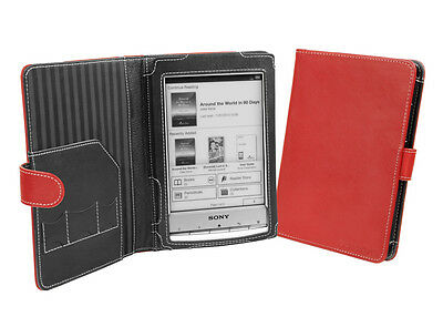 Cover-Up Sony Reader PRS-T1 / PRS-T2 (Book Style) Red Cover Case