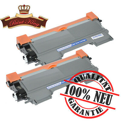 2 x Toner für Brother TN 2220 TN2210 2250DN MFC 7360N 7460DN