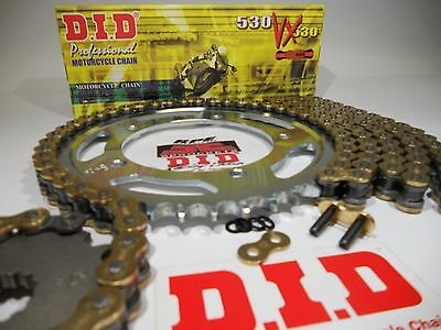 DID X-Ring SUZUKI GSF1200 BANDIT GSF 1200 97/05 CHAIN AND JT Steel SPROCKET KIT