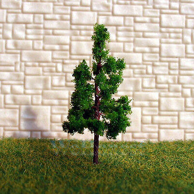 300 pcs Green Model Trees #G3210 for N gauge or Z scale layouts