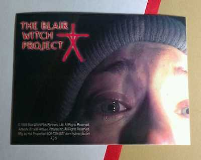 The Blair Witch Project Photo Face Hat Flashlight Movie Sticker