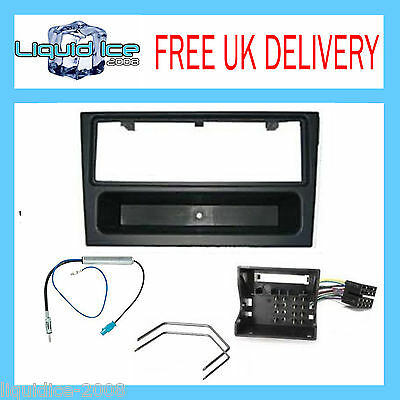 VAUXHALL VIVARO 2001 to 2012 FACIA PLATE TRIM ISO LEAD AERIAL ADAPTOR KIT