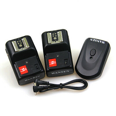PT-04 GY 4 Channels Wireless Flash Trigger+2Receivers Yongnuo Canon Nikon Pentax