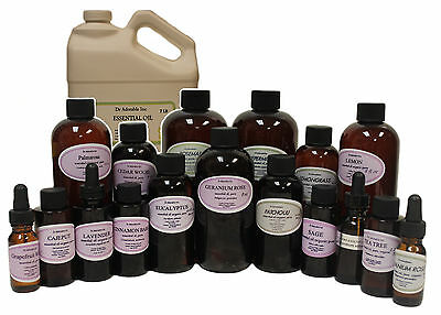 Pure Organic Lavender Essential Oil From 0.6 Oz Up To 32 Oz