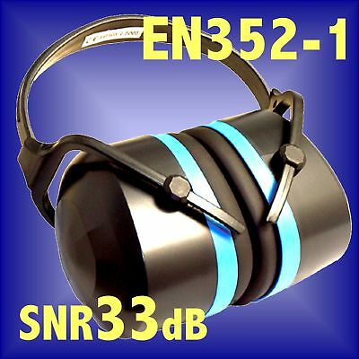 FOLDING EAR DEFENDERS EN352 SNR33 muffs hearing 868768