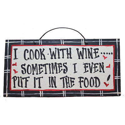 IM's CountrysideFunny WineThemed Wooden Signs/American Made/Hand Painted
