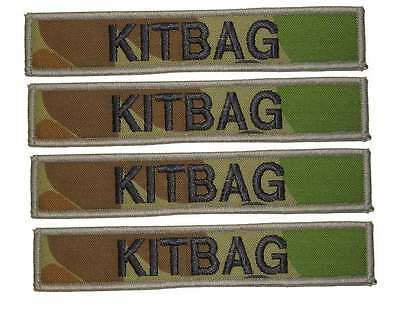 Embroidered Name Tags, Military, Army