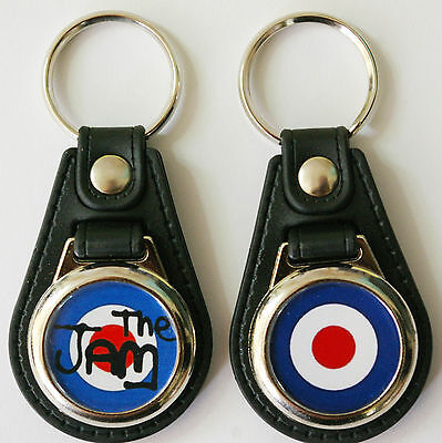 The Who Top Quality  Paul Weller  Mods The Small Faces Target Keyring