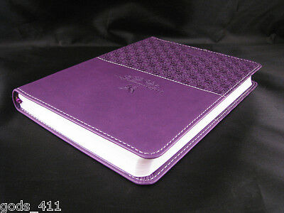 Journal Handy Size Lux Leather Purple Diary Butterfly I Believe Miracles 369848