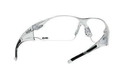 Bolle Rush Safety Glasses - RUSHDPI - Clear HD Lens
