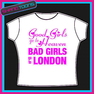 London Girls Holiday Hen Party Printed Tshirt