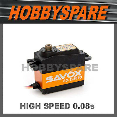 Savox Sc1258Tg Titanium Gear Super High Speed Digital Servo Rc Car Helicopter
