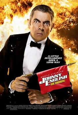 JOHNNY ENGLISH REBORN MOVIE POSTER 2 Sided ORIGINAL 27x40