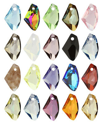 Genuine SWAROVSKI 6656 Galactic Vertical Crystals Pendants * Many Colors & Sizes