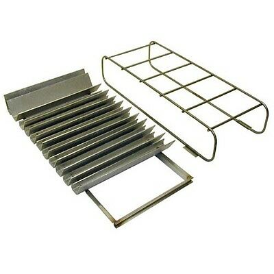 """BURNER COVER SHIELD 22"""" X 11"""" X 7"""" Steel 1/4"""" Wire Frame for TEC Y-SMWCS 262581"""