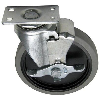 "PLATE MNT CASTER W/BRAKE 5"" DIA 1-3/4 X 3 for Compenent Hardware Group 262367"