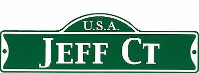 Green Street Room Sign Personalized ~ USA REBECCA CT ~ Stocking Stuffer ~