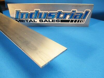 "1/8"" x 2"" 6061 T6511 Aluminum Flat Bar x 12""-Long-->.125"" x 2"" MILL STOCK 3 PACK"