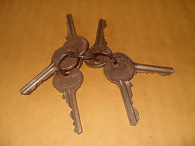 Union Parkes Keys x 7 - As Photo