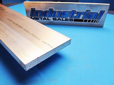 "1/2"" x 4"" 6061 T6511 Aluminum Flat Bar x 12""-Long-->.500"" x 4"" 6061 MILL STOCK"