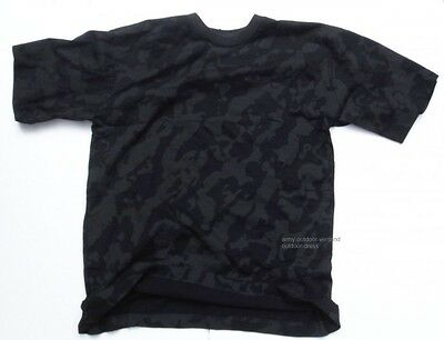 T-Shirt nightcamo S - 3XL, Armyshirt night camo Kurzarm Shirt Freizeitshirt