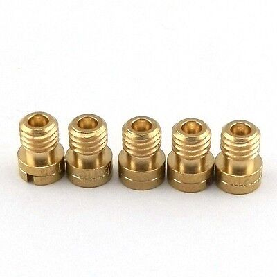 5X 5mm M5 Main Jet KEIHIN CARB CVK #105 #110 #115 #120 #125