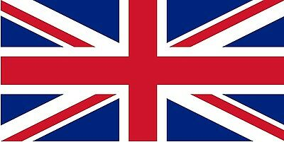 "UNION JACK FLAG 18"" X 12"" for boats treehouses BRITISH boat caravan flags"