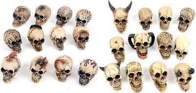 Mini Skull Ornament World Figure Ornaments Wicca Pagan Gothic Choose Your Style