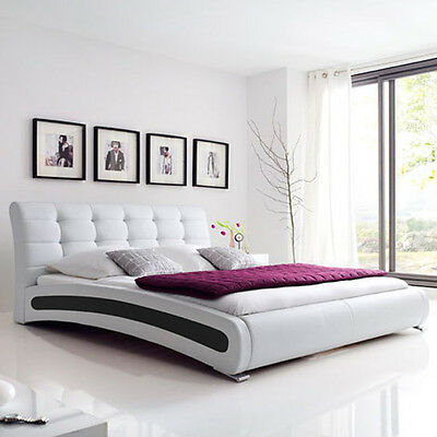 isa polsterbett kunstlederbett bett designerbett futonbett. Black Bedroom Furniture Sets. Home Design Ideas