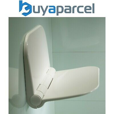 Roper Rhodes WALL MOUNTED SHOWER SEAT Fold Away Easy Clean - Max 160kg 25 Stone