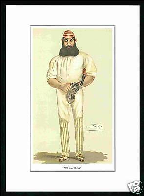 Cricket - Packet Of 25 - Superb Vanity Fair Prints - Cricketer -  W.  G.  Grace