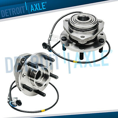 1998-2004 Chevy Blazer S10 GMC Sonoma (2) Front Wheel Bearing and Hub Assy 4x4