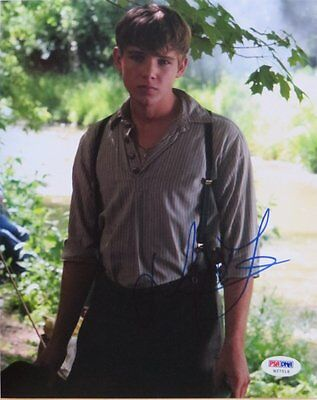 Max Thieriot Signed Kit Kittredge: An American Girl 8x10 Photo (PSA/DNA) #H27518